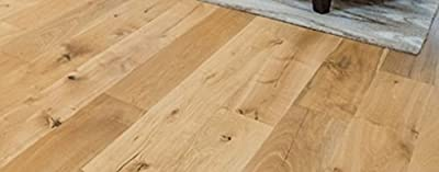 """Wide Plank 7 1/2"""" x 5/8"""" European French Oak (Utah) Prefinished Engineered Wood Flooring Samples at Discount Prices by Hurst Hardwoods"""