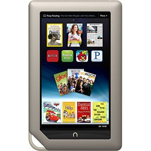 Barnes & Noble NOOK Tablet 16gb (NEWEST Version, Color, BNTV250)