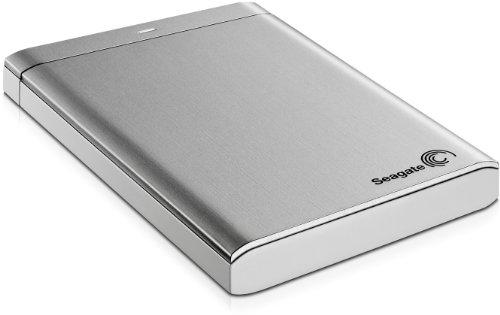 Seagate STBU1000201 1TB Backup Plus USB 3.0 2.5 Inch Portable Hard Drive - Silver