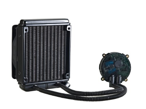 Cooler Master Seidon 120M Liquid CPU Water Cooling System with Copper Heatsink and 120mm Radiator - 1 Fan