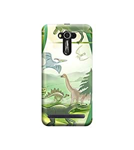 Ebby Premium Printed Back Case Cover With Full protection For Asus Zenfone 2 (Designer Case)