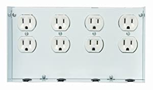 SIEMENS ACP8 AC Outlet for 4 Duplex Receptacles