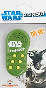 "Buy Underground Toys - Underground Toys Star Wars ""In Your Pocket\"" Talking Keychain - Yoda"