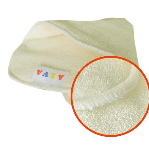 Alva Baby Cloth Diaper 4 layers Antibacterial Bamboo Viscose Inserts Super Water Absorbent 12pcs 12mb