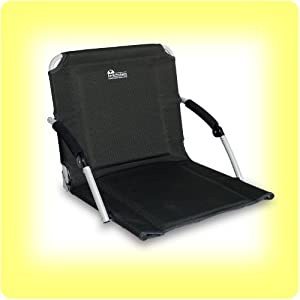Earth Pro Stadium Outdoor Seat W Folding Arms Extra Padding from EARTH PRODUCTS