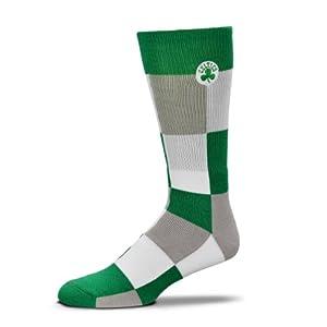 NBA Boston Celtics Color Blocks Crew Socks by FBF