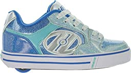 Heelys Girl\'s Motion Plus (Little Kid/Big Kid/Adult) Royal/New Blue/Ice Blue Sneaker 5 Big Kid, 6 Women\'s M