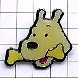 限定 レア ピンバッジ ミールー犬スノーウィ漫画タンタンの冒険 ピンズ フランス