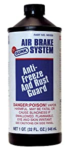 Motor Medic by Gunk M2832 Air Brake System Anti-Freeze and Rust Guard - 32 oz.