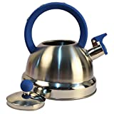 St. Millers Stainless Steel Whistling Tea Kettle 2500Ml, 1Pc, Blue