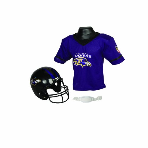 NFL Baltimore Ravens Replica Youth Helmet and Jersey Set at Amazon.com