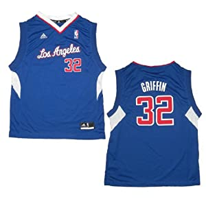 NBA LOS ANGELES CLIPPERS GRIFFIN #32 Youth Pro Quality Athletic Jersey Top by NBA