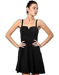 XnY Women's Dress (DR 1020009_Black_16)
