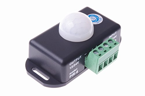 SMAKN® 12V 24V PIR Sensor LED motion sensor Switch Motion Timer Function Sign Control PIR Cotroller LED Strips Lighting