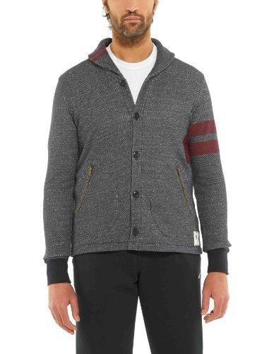 Nike la Lega BB51Teschio da Uomo Pulsante Anteriore Cardigan 502992Jumper, grigio (Grey 010), M