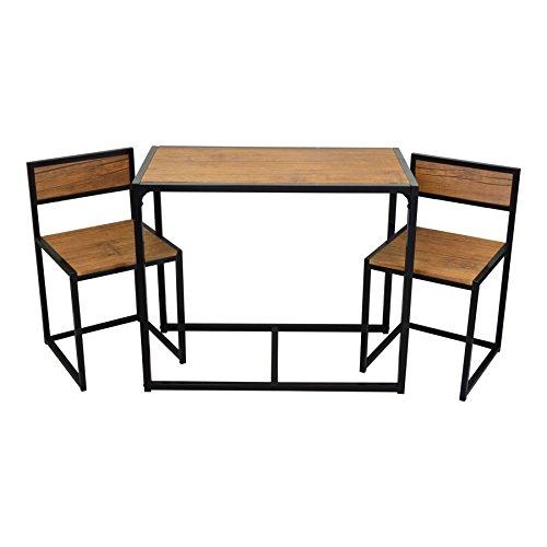platzsparender und kompakter k chen esstisch und st hle. Black Bedroom Furniture Sets. Home Design Ideas