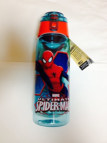 Zak Designs Spider-Man Tritan Bottle, 25-Ounce, 2-Pack