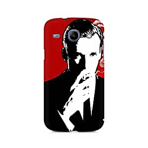 Mobicture Suit and Cig Premium Printed Case For Samsung Core I8262