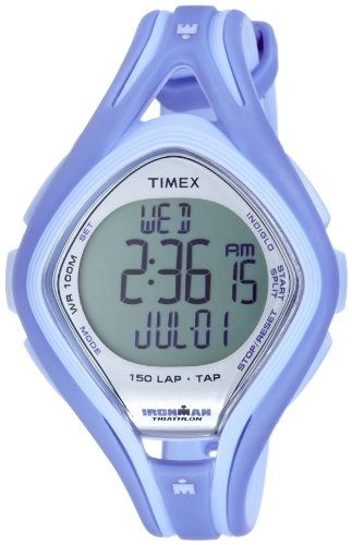 Timex Ladies Watch Ironman Sleek 150 LAP Digital Quartz T5K287