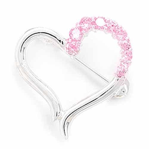 Cut Out Heart Design Fashion Pin