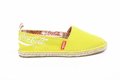 espadrilles donna Coca Cola ladies espadrillas cc06102 juta classic yellow -- 39 eur - 9 us