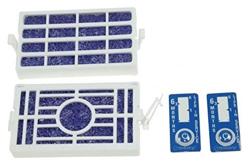 Wpro 2 filtres Microban antibactériens pour réfrigérateurs