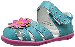 pediped Grip Sabine Sandal (Toddler), Fuchsia, 20 EU(5 E US Toddler)