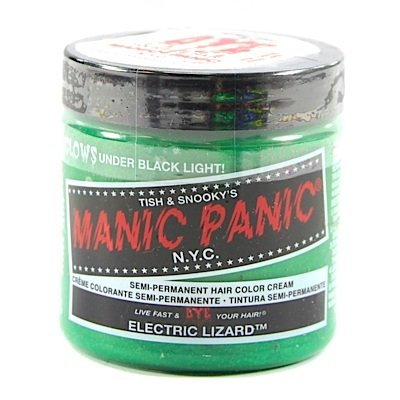 Manic Panic Electric Lizard Cream Formula Semi-Permanent Hair Color Dye