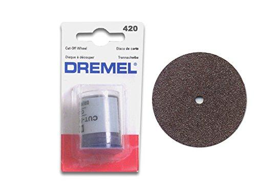 Dremel 420 Dischi Taglio Heavy Duty, 24 mm, 20 Pezzi