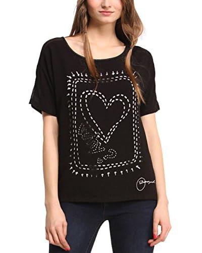Desigual T-Shirt Raquel schwarz
