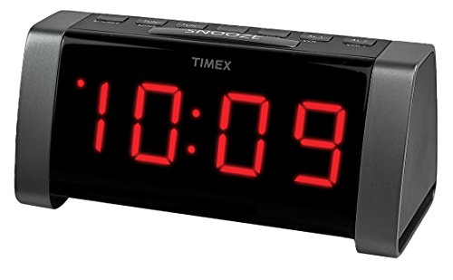 Timex T235BY AM/FM Dual Alarm Clock Radio - Black (Dual Alarm Clock Large Display compare prices)