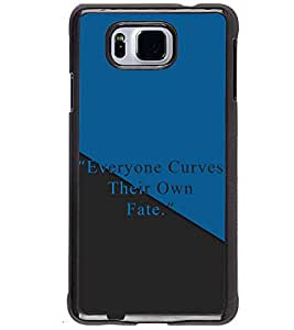 PRINTSWAG QUOTE Designer Back Cover Case for SAMSUNG GALAXY ALPHA