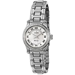 Seiko Women's 100M Mother Of Pearl Dial Watch # SXD773
