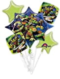 Bouquet: Teenage Mutant Ninja Turtles Bouquet 5 Balloons Total
