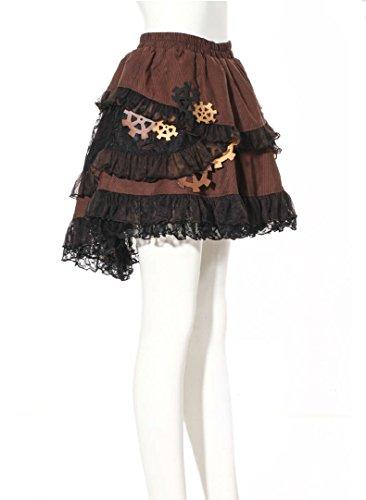 Steampunk Victorian Miniskirt