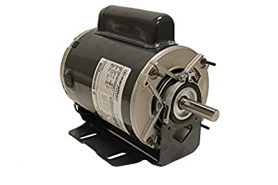 Marathon B319 Fan and Blower Motor, Single/Split Phase, Protection - Auto, 3/4 hp, 1725 rpm, 115/208-230V, 10.0/5.2-5.0 amp