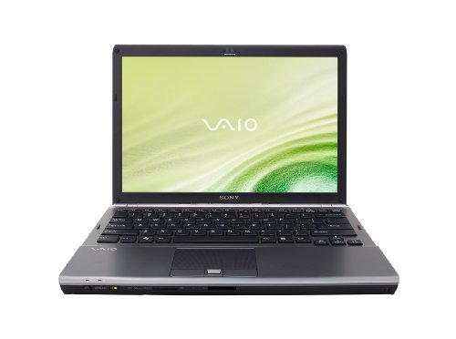 Sony VAIO VGN-SR410J/B 13.3-Inch Laptop - Black
