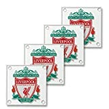 Liverpool F.C. Glass Coasters