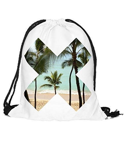 Better Sleep tylz jahn2X-Borsa Turn sacchetto zaino sacca sportiva Gymsack Hipster Beach vers. Design (ca. 32x 39cm)