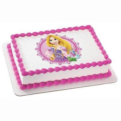 DISNEY PRINCESS FAIRYTALE PRINCESS RAPUNZEL Edible Image FROSTING SHEET Cake Topper - 1