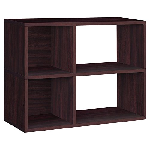 Way-Basics-Chelsea-2-Shelf-Bookcase