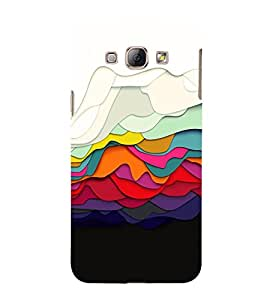 Colored Graphics Cute Fashion 3D Hard Polycarbonate Designer Back Case Cover for Samsung Galaxy A8 (2015 Old Model) :: Samsung Galaxy A8 Duos :: Samsung Galaxy A8 A800F A800Y