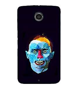 EPICCASE Weird Man Mobile Back Case Cover For LG Nexus 6 (Designer Case)