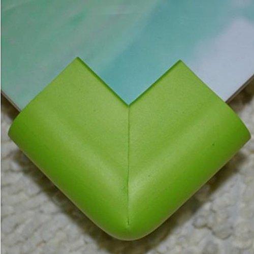 zhou-Kinder-Ecke-Wache-U-Silica-gel-verdickte-weiches-Baby-Tabelle-Ecke-Baby-Bump-Nachweis-Umwelt-ungiftig-10-Stck-grass-green