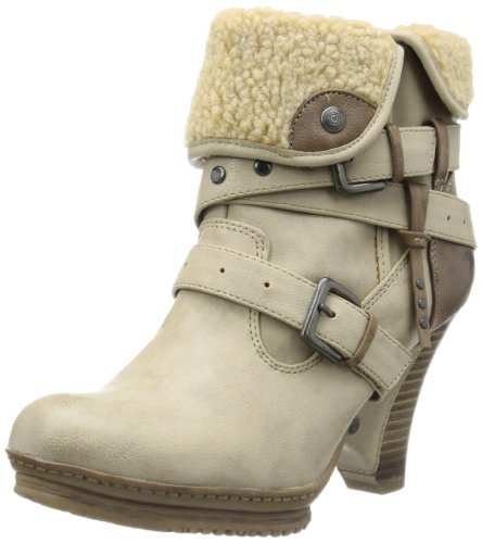 Mustang 1107-604, Stivali donna, Beige (Beige (taupe 318)), 40