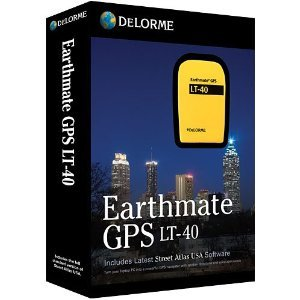 Delorme Earthmate GPS LT-40 with Street Atlas USA 2011