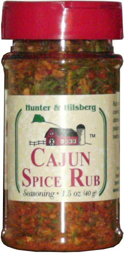 Hunter & Hilsberg Cajun Spice Rub, 1.5000-Ounce (Pack of 5)