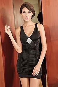 Amazon.com: Vestido De Festa Curto Sexy Mini Short Tank Dress V Neck