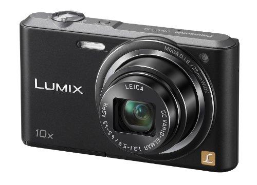 Panasonic Lumix DMC-SZ3EB-K Compact Camera - Black (16.1MP, 10x Optical Zoom with Leica DC Lens, 25mm Wide Angle Lens, HD Video Recording) 2.7 inch LCD
