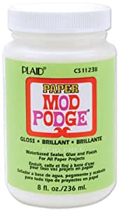 Mod Podge CS11238 8-Ounce Paper, Gloss Finish